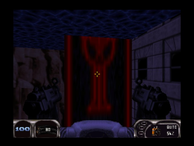 Duke Nukem 64 - Misc  - Looks like the Punisher logo Slightly - User Screenshot